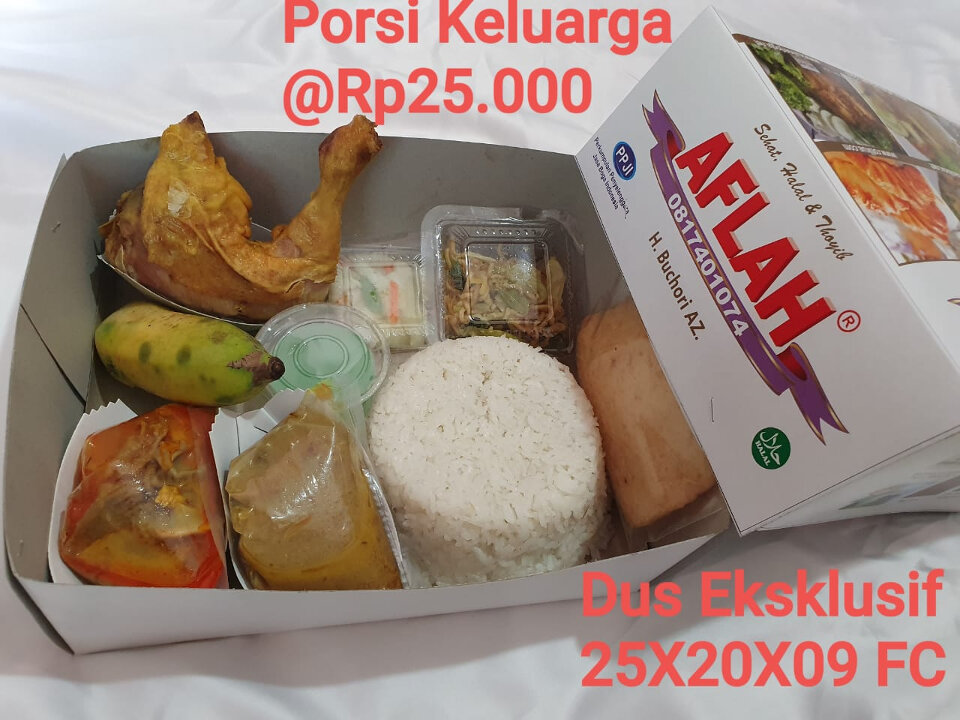 Nasi box paket jasa aqiqah bantul by aflah