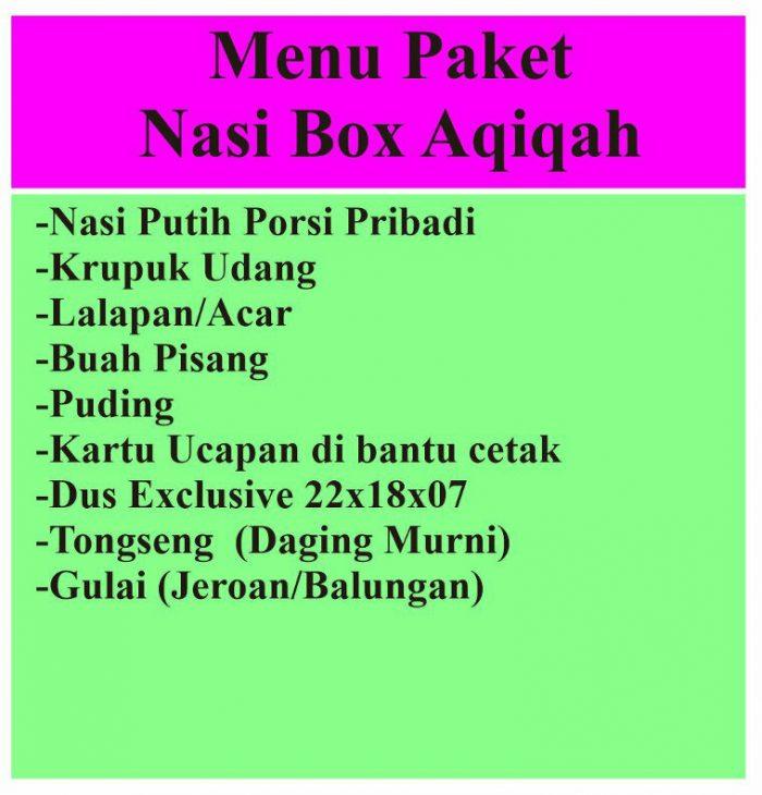 catering jogja - kulon progo - catering aqiqah nasi box